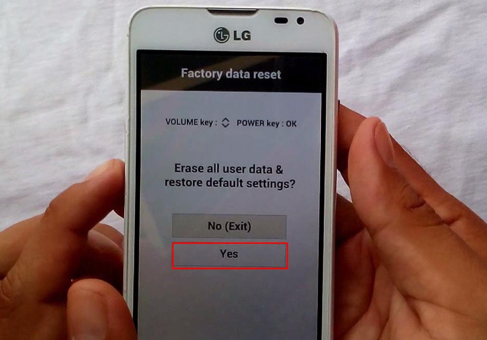 borrar todos los datos del usuario