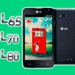 resetear teléfono lg optimus l65, l70 y l80