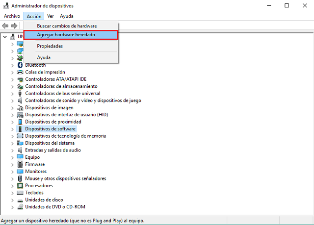 instalar Drivers VCOM - USB para dispositivos Mediatek