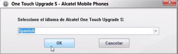 Cómo actualizar el software del celular Alcatel