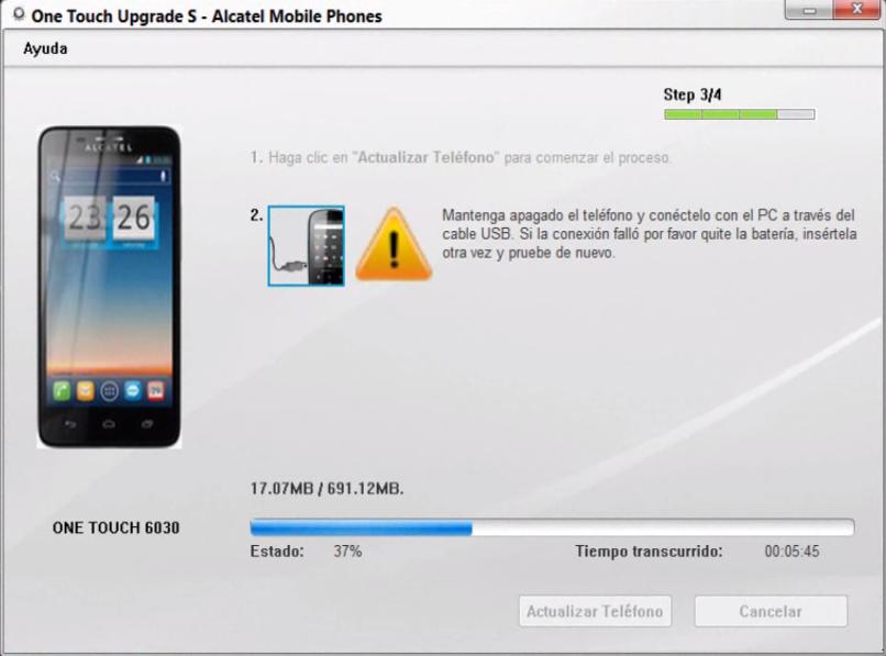 Actualizar | Reparar | Flashear Alcatel One Touch
