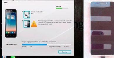 Cómo revivir o actualizar cualquier Alcatel One Touch