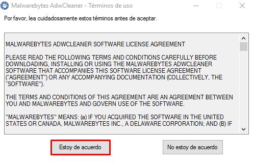 Eliminar Adware y Anuncios Pop-up de Windows