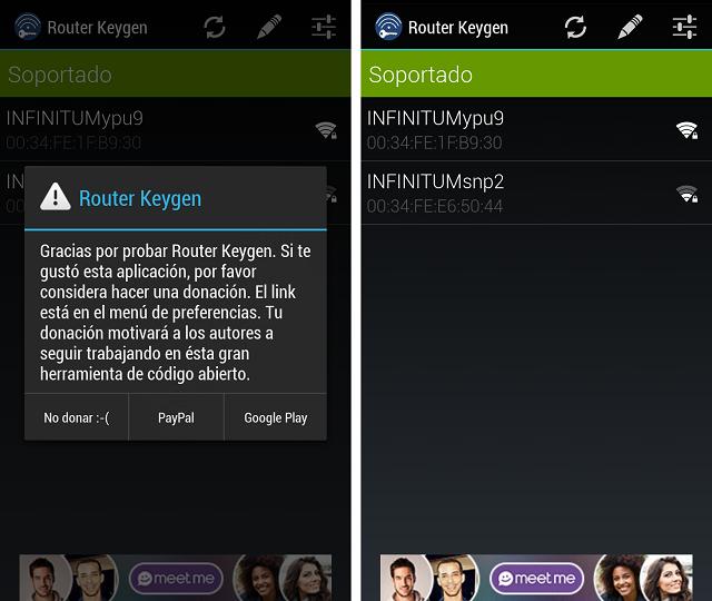 descifrar claves wifi con un teléfono Android