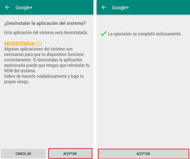 Así se borran las aplicaciones pre-instaladas en Android