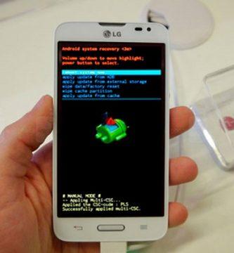 cómo desbloquear un celular LG L60