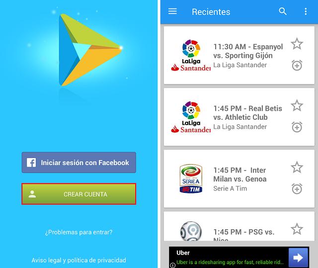 como ver TV de paga gratis en tu Android