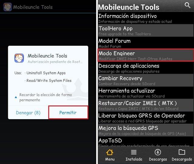 Como cambiar o restaurar IMEI de cualquier dispositivo Android
