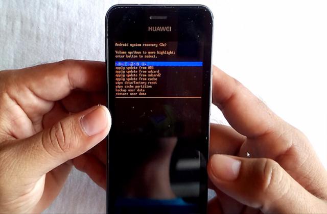 Cómo resetear Huawei Y300, Y320, Y321
