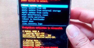 hard reset del teléfono samsung galaxy j1