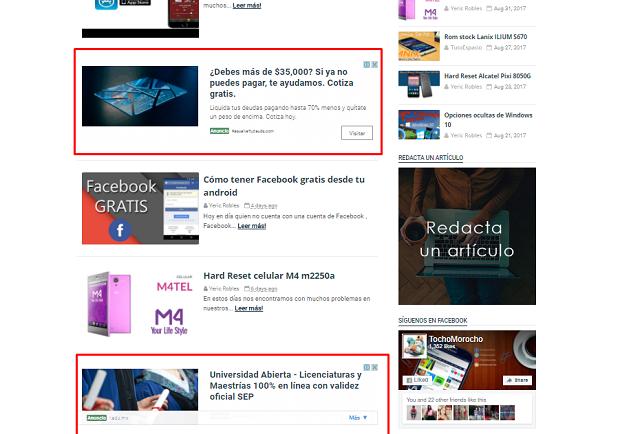 Cómo incluir publicidad en el feed del Blog