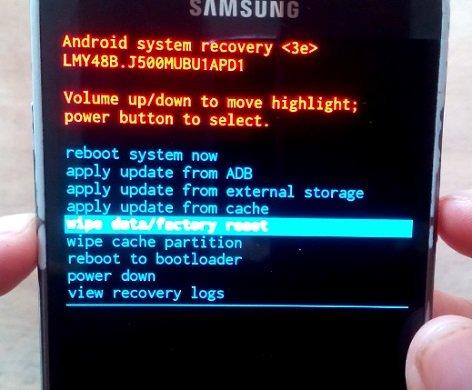 How to Hard Reset my phone SAMSUNG Galaxy J2