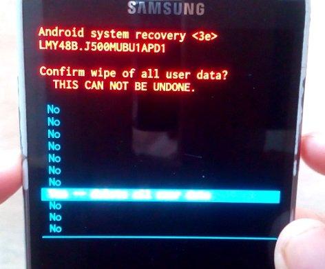 Formatear un Samsung Galaxy J2