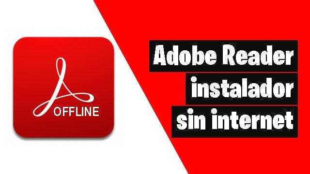 Adobe reader offline