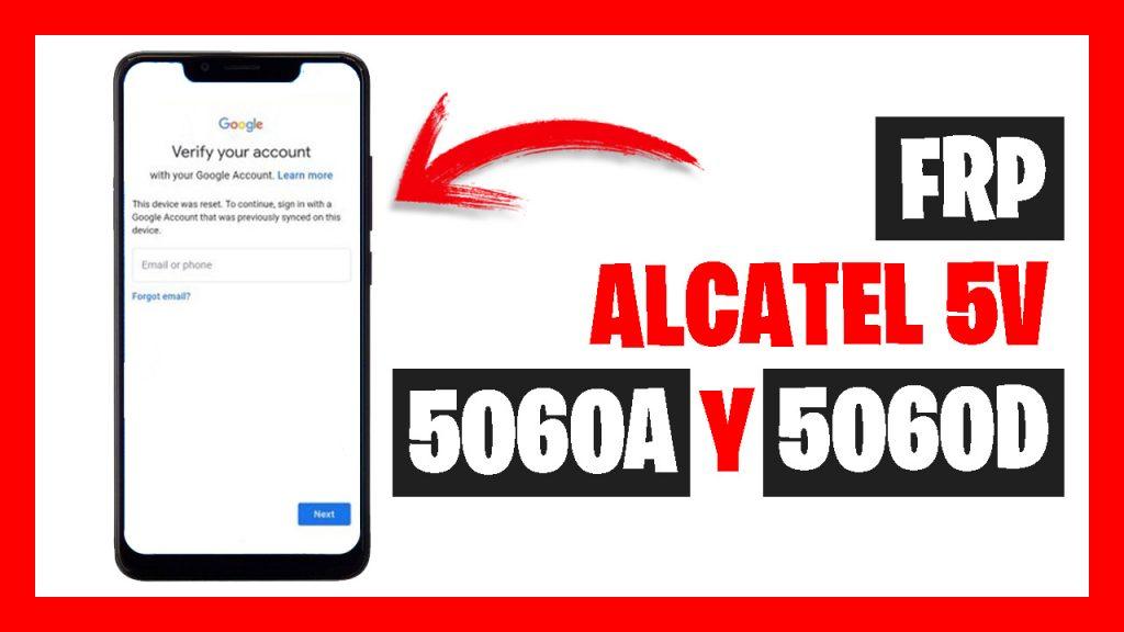 FRP alcatel 5v