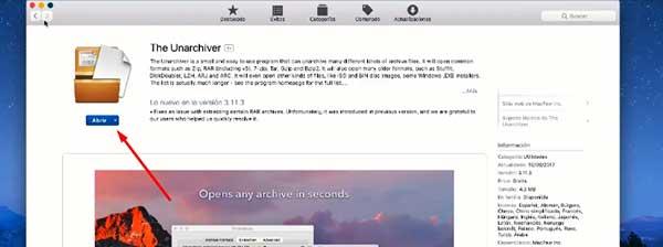 descargar the unarchive mac