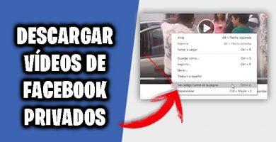 descargar videos de facebook privados