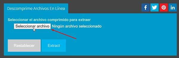 descomprimir un archivo zip online