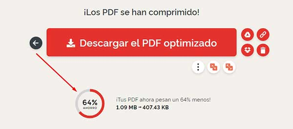 optimizar pdf