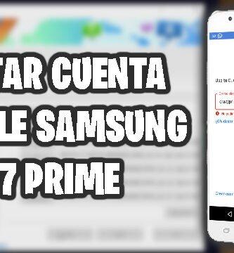 quitar cuenta google samsung j7 prime