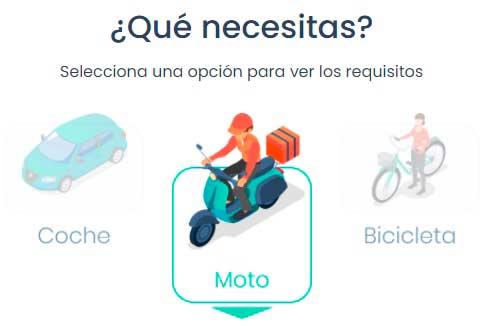rappi repartidor requisitos México